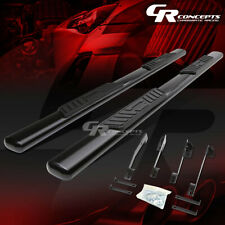 "BLACK 5"" OVAL SIDE STEP NERF BAR RUNNING BOARD FOR 98-02 DODGE RAM EXTENDED CAB"