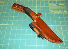 ESEE 4 CUSTOM HAND CRAFTED LEATHER Dangle Sheath Made in USA, Form Fit,