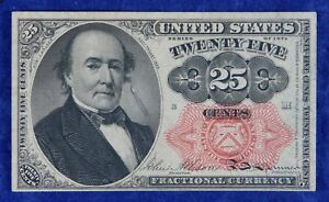1874 Fractional Currency 25c Banknote