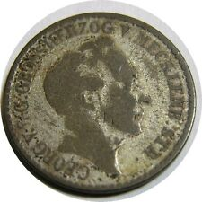 elf Germany Grand Duchy of Mecklenburg-Strelitz 4 Schilling 1846 Silver