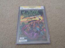 Turok Dinosaur Hunter #1 Sharp Comics Edition CGC SS 9.6 Bob Layton White Pages