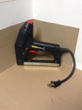 Stanley TRE300 Power Electric Stapler/Nailer -- Brads and Staples 2 in 1 EUC