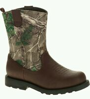 Realtree Infant/Toddler Boys/Girls Camo Cowboy/Casual Boots/Shoes:All Sizes 2-13