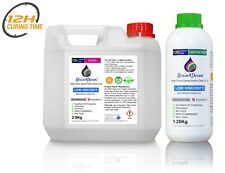 Fast Curing (12h) Clear Epoxy Resin Non-toxic UV Resin4Decor 3.75kg (1gal)