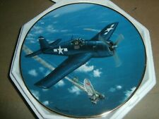 Hamilton Great Fighter Planes of Wwii Plate F-6F Hellcat Raymond Waddey 1992
