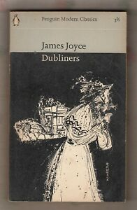 JAMES JOYCE = DUBLINERS = {SHORT STORY COLLECTION} = PENGUIN UK P/B 1964 =