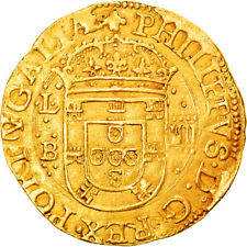 [#906332] Coin, Portugal, Filipe II, 4 Cruzados, 1598-1621, Pedigree, Gold
