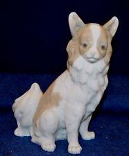 Lovely Rare Nao By Lladro ''Pomeranian'' Dog Sitting Figurine USC RD8016