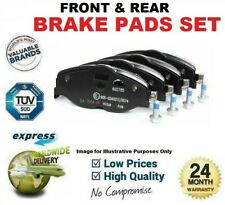 FRONT & REAR AXLE BRAKE PADS for BMW 5 (G30, F90) 530 e iPerformance 2017->on