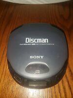 Sony Discman Portable CD Compact Player Mega Bass Model D-151 Black - Lid Issue?