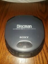 Sony Discman Portable CD Compact Player Mega Bass Model D-151 Black - Lid Issue?
