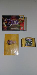 The Legend Of Zelda: Majora's Mask - Collector's Edition (Nintendo N64)