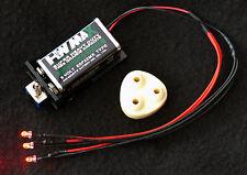 LED Tri-Laser & Laser Mount  bio helmet mask Preadator