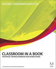 Adobe Dreamweaver CS3 Classroom in a Book-ExLibrary