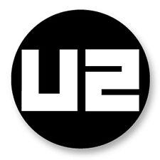"Pin Button Badge Ø25mm 1"" U2 Bono no line 360° Joshua Tree Irland Dublin Peace"