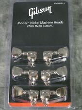 NEW GENUINE GIBSON GROVER NICKEL TUNERS SET 6 STRING TUNING MACHINE GUITAR PARTS