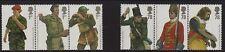 GB 2007 British Army Uniforms (6) SG 2774-79 MNH