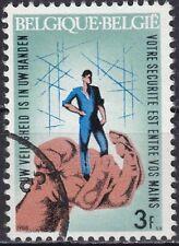 Belgien Mi.-Nr. 1500 gestempelt Arbeits-Unfallverhütung
