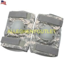 Acu Tactical Elbow Pads Us Army Military Large *New*