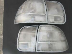 Civic EK Sedan 96-98 4DR Clear Brand New Taillights Lenses Ultra Rare! Spoon