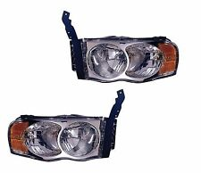 TIFFIN ALLEGRO BUS 2007 2008 2009 PAIR FRONT HEADLIGHT HEAD LIGHT LAMP - SET