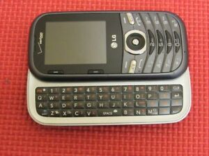 LG Cosmos 3 LG-VN251S Gray/Black Verizon Wireless QWERTY Slider Cell Phone