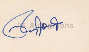 Roy Jones Jr. - Hall of Fame Boxing Champion - Signed 3x5 Card