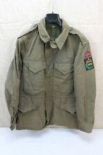 NORWEGEN TYP US ARMY WW2 Field Jacket M-1943 Feldjacke M43 oliv Gr. 50 Medium