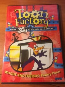 Toon Factory Woody and Friends: Pantry Panic (DVD) Over 2 hours...64