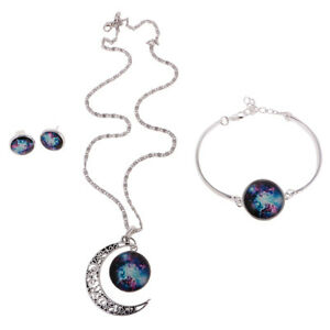 Frauen-Gold überzogene Kettenhalsketten-Ohrringe Kristallrhinestone-Schmuck SP