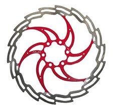 Disco freno Diámetro 203 mm Plata/rojo Xlc frenos bici