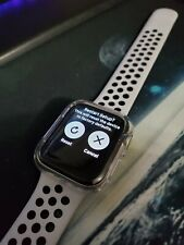 Apple Watch Series 4 Nike+ 44 mm Silver Aluminum Case with Pure Platinum/Black …
