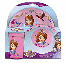 1x Disney Sofia The First Tableware Set Childrens Damaged )