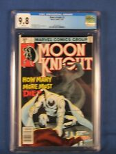 MARVEL COMICS CGC 9.8 MOON KNIGHT 2 12/80 WHITE PAGES