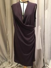 7edcb36087 Allsaints Silk Drape Wrap Dress...  345.00 Retail!