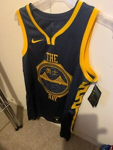 Nike NBA Connected The Bay Golden State Warrior Jersey - adult L (48)