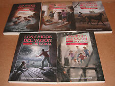 Boxcar Children Los Chicos Del Vagon de Carga Spanish Edition Vol. 1,2,3,4,5 NEW