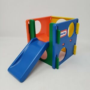 Vintage - 1980's Little Tikes Dollhouse - Climbing Cube with Slide - Jungle Gym