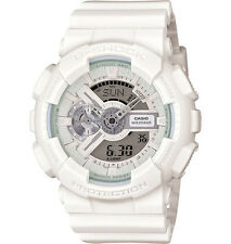 Casio GA110BC-7A Men's Analog Digital Alarm Chronograph White G Shock Watch