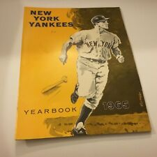New York Yankees 1965 Yearbook Excellent Condition Rare Baseball Find