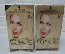 2 ~ Schwarzkopf Color Ultime Iconic Blonde Hair Color Dye 10.1 LIGHT BLONDE Read