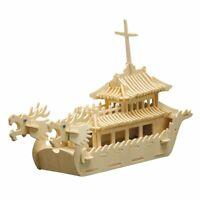 PEBARO Holzbausatz Drachenboot