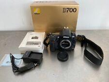 Nikon D700 12.1MP DSLR FX Full Frame Camera Body w/ Strap & Battery Car Charger