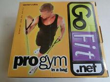 GoFit Portable Pro-Gym Rubber Resistance Bands