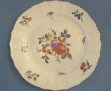 "Herend Vintage 11"" Dinner Plate in Market Garden Pattern  #1527/BFR 1930's"