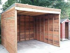 Field Horse / Animal Shelter Stables Sectional Timber / Wooden Buildings