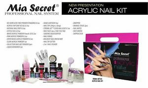 Mia secret Professional Acrylic Nail Kit For Beginners & Students BIG SAVING