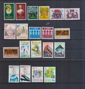 Liechtenstein postfrisch Europa Marken aus den Jahren 1980-1989