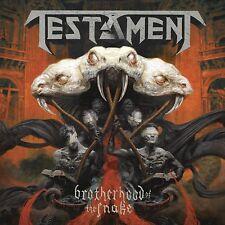 Testament Brotherhood Of The Snake Edición Limitada Tapa Dura Digibook CD Nuevo