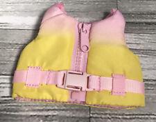 """Glitter Girls 14"""" Doll - Life Jacket- Swimming-Fits Designafriend Sister Doll"""